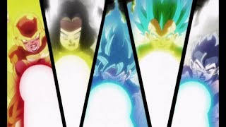 Universe 7 all fighters full power Vs Universe 3 Anilaza - Dragon Ball Super English Sub