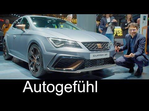 Seat Leon Cupra R 310 hp FWD REVIEW with digital cockpit & TGI CNG special - Autogefühl