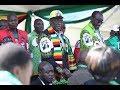 Breaking News : Assassination attempt on President E.D  Mnangagwa as he was leaving a Zanu PF Rally.