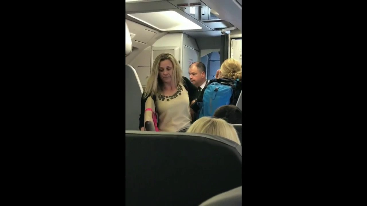 Watch: American Airlines Passenger Brawls After Being Refused Beer By Flight Attendant