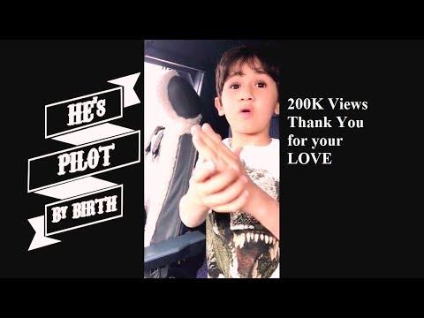 Pilot by Birth 5 Yr old Kid is Genius of Airbus(Full Video)