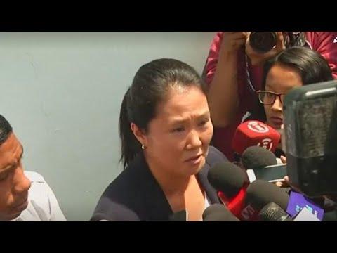 Perú: Detenida Keiko Fukimori, hija del expresidente Alberto Fujimori