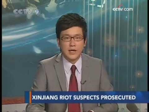 21 riot suspects prosecuted in Xinjiang - CCTV 092509