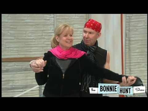 Bonnie Hunt Works With Her Dance Instructor - The Bonnie Hunt Show