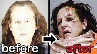 覚醒剤中毒者 使用前後の顔の変化がよくわかる動画 【衝撃】