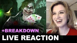 Injustice 2 Joker Trailer REACTION