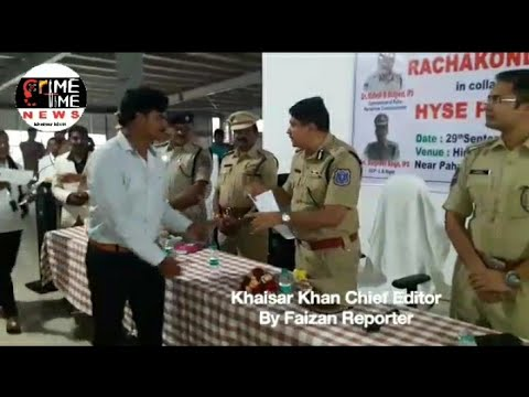 JobConnect By Rachakonda Police In Association Wth HYSE Placements For Unemployed Youth Of Rachakond