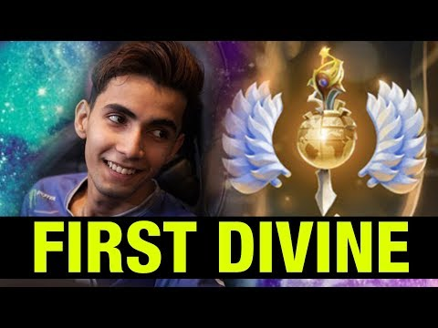 THE VERY FIRST DIVINE RANK PLAYER!! SUMAIL - Dota 2