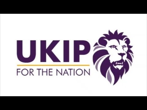 UKIP Chairman unveils new UKIP logo