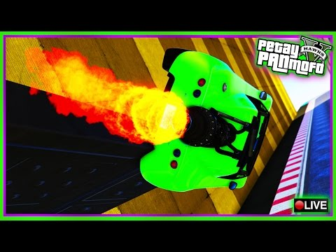 GTA Online Custom Rocket Car Races n Stunt Races - PS4 Custom Jobs Playlist (GTAV Race Links)