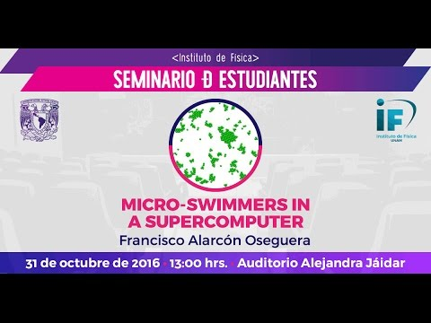 Micro-swimmers in a supercomputer