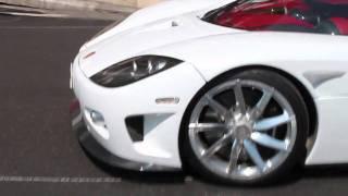 LOUD Koenigsegg CCX accelerations in Monaco