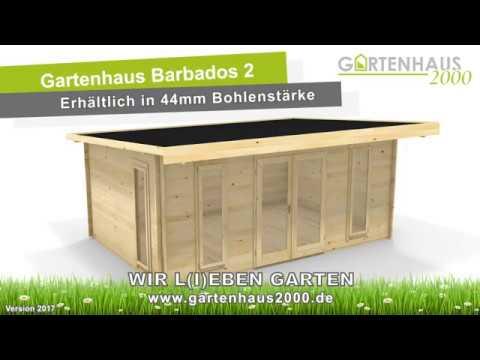 Lasita Maja Gartenhaus Barbados 2 | 3D Ansicht Gartenhaus2000