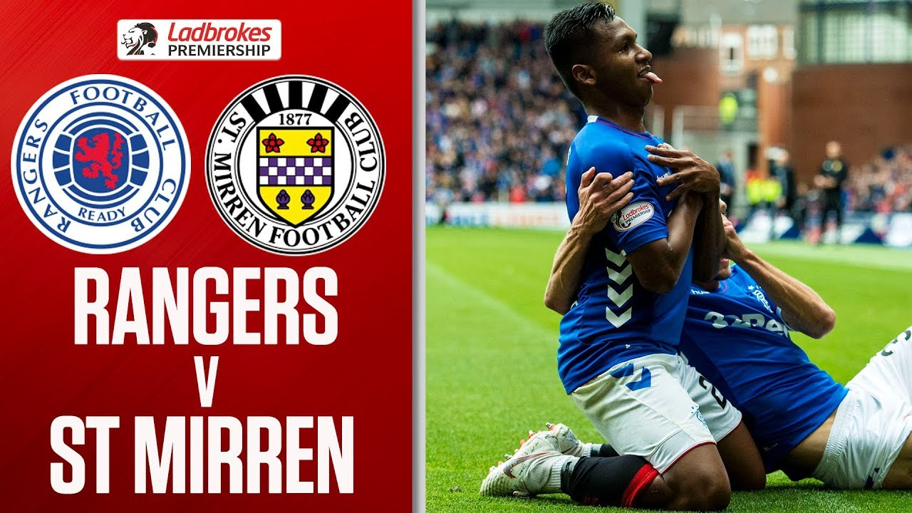 Rangers 2-0 St Mirren | Steven Gerrard's First Scottish Premiership Win | Ladbrokes Premiership