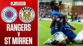 Rangers 2-0 St Mirren | Steven Gerrard's First Scottish Premiership Win | Ladbrokes Premiership