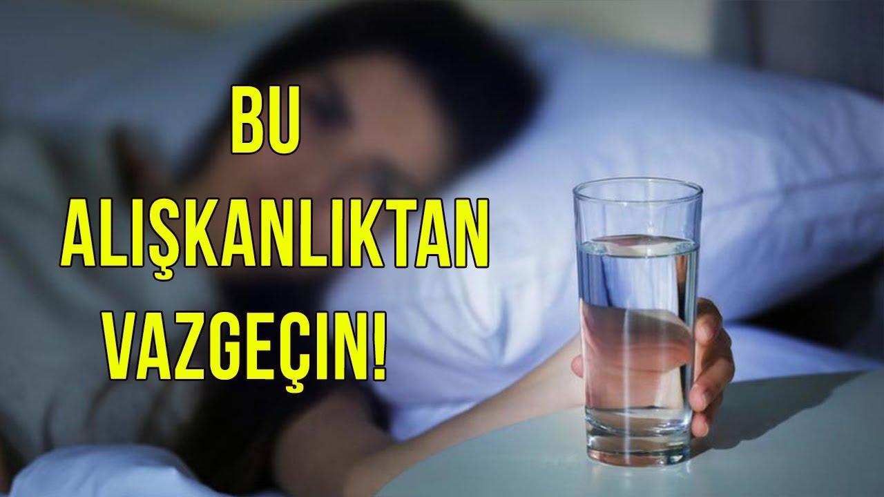 Uyurken Yanınıza SAKIN Su Koymayın ! Çok TEHLİKELİ Dikkat Edin...
