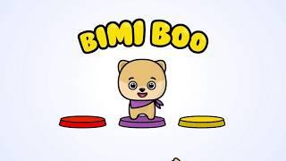 Формы и цвета. BIMI BOO. Игра онлайн.