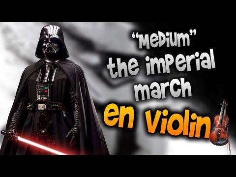 the imperial march en violín |tab,tutorial,partitura,como tocar|HD Tutorial