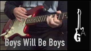 Boys Will Be Boys, The Choirboys, tutorial gitar.