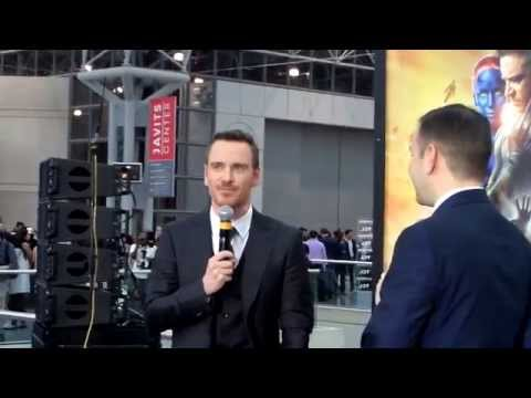 X-Men X-Perience at Jacob K. Javits Convention Center: Michael Fassbender