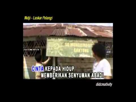 Nidji - Laskar Pelangi (Karaoke minus Vokal)