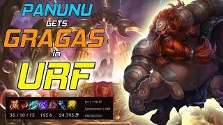 Panunu | GRAGAS IN URF! (FULL GAMEPLAY!)