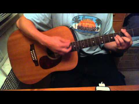 Sublime - Doin' Time - Acoustic guitar cover with vocals