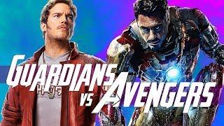 Guardians of the Galaxy vs Avengers in Infinity War - MCU Stark Tech in Space?