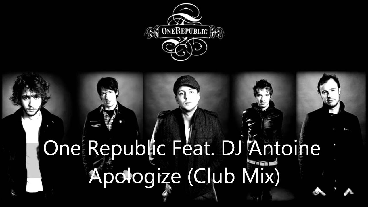 dj antoine apologize