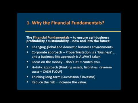 7x Key Financial Fundamentals - Building a Profitable and Sustainable Agribusiness