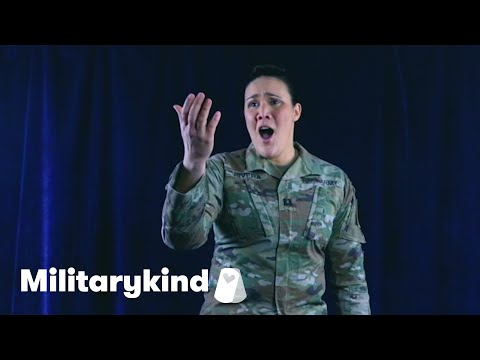 Army captain's secret talent will blow you away | Militarykind