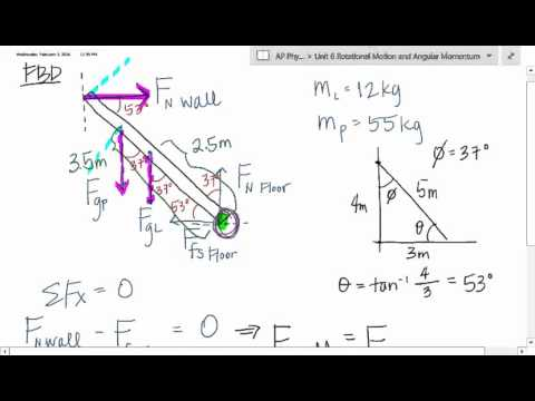 APP1 U6 Rotational Motion   Worked Examples