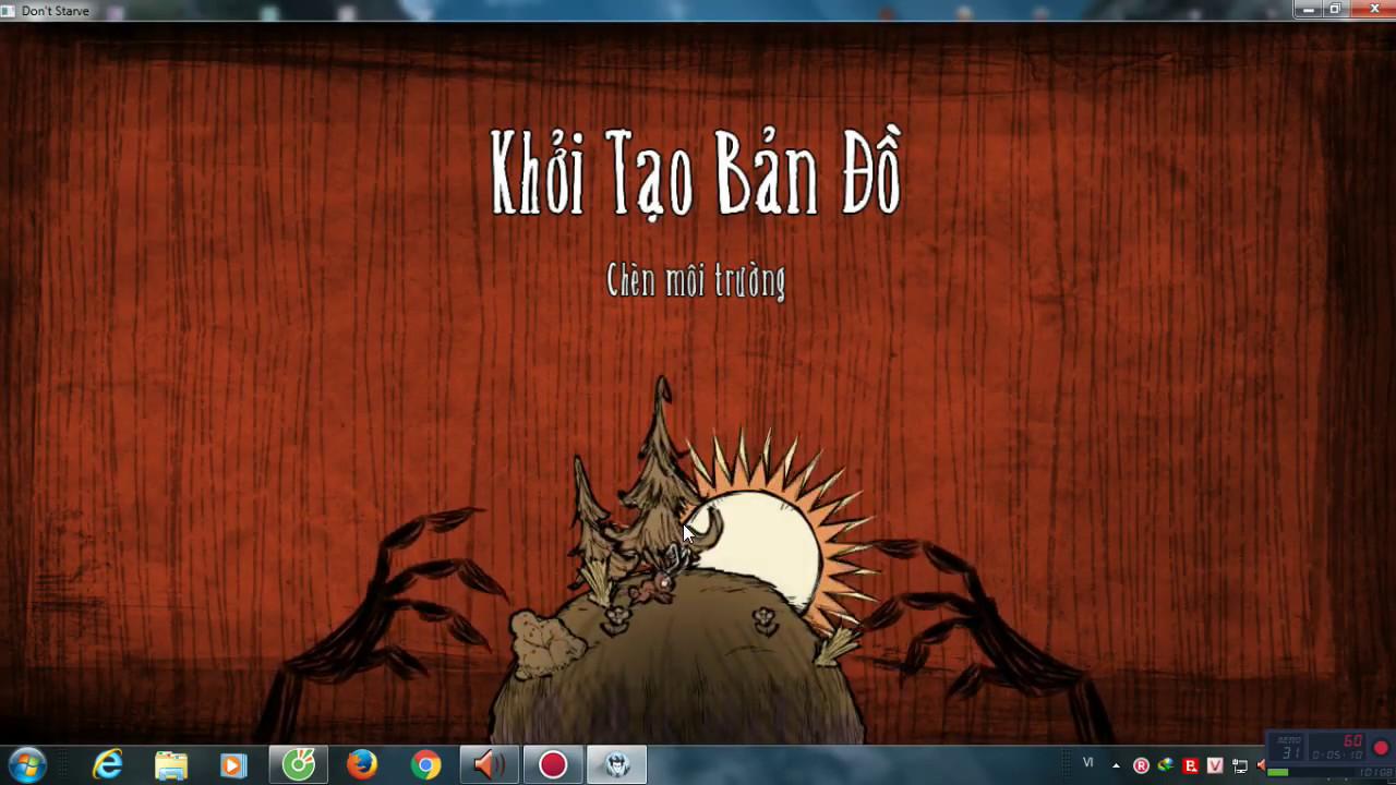 Hướng Dẫn Tải Và Cài Đặt Game DON'T STARVE Việt Hóa