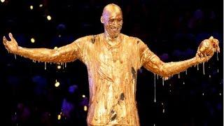 Kobe Bryant gets gooey at Kids Choice Sports Awards