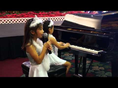 Marshmallow World -- piano