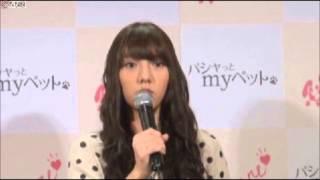AKB48の高城亜樹(22)が1日、都内で開催されたペットファッシ...