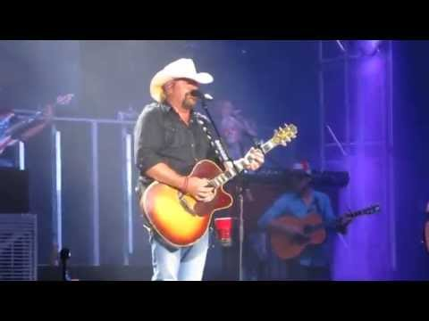 Toby Keith, July 11 2015, God Love Her