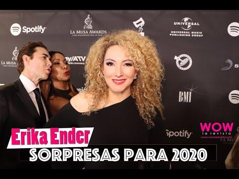 Erika Ender proyectos con Anitta, Marc Anthony, Akon | La Musa Awards 2019