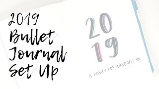 2019 Bullet Journal Set Up | Love, Shaira