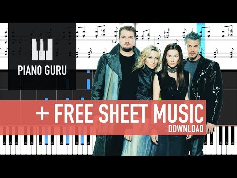 The Sign - Ace Of Base - Piano Tutorial / Cover & Sheet Music | Piano Guru