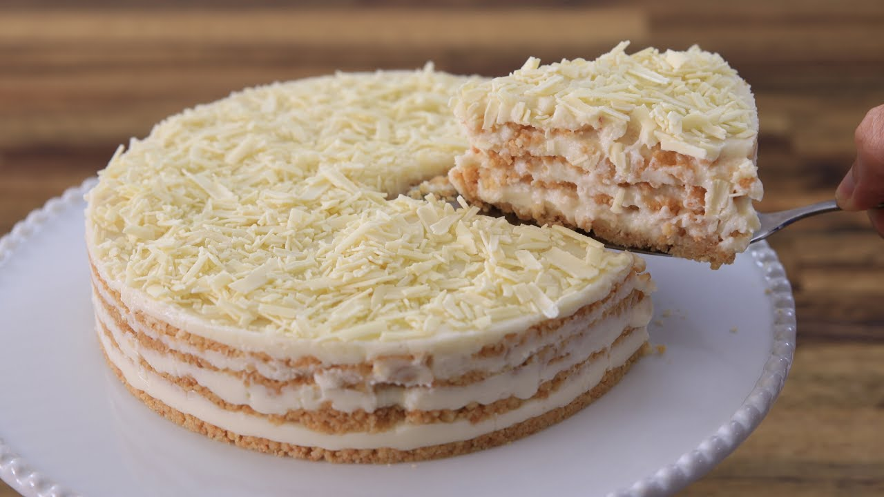 Easy No Bake Cake Recipe The Cooking Foodie