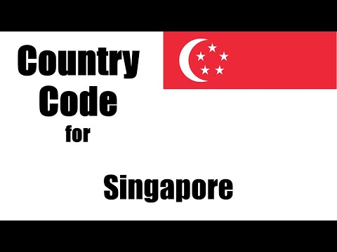 Singapore Dialing Code - Singaporean Country Code - Telephone Area Codes In Singapore