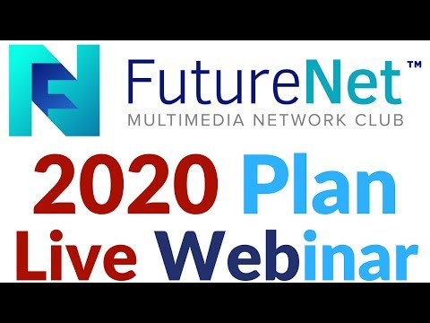 FutureNet Webinar CEO Future Planning  2020 Biggest Opportunity World No. 1 Company