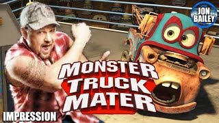 MONSTER TRUCKS w/LARRY the CABLE GUY (Epic Voice Stuff)