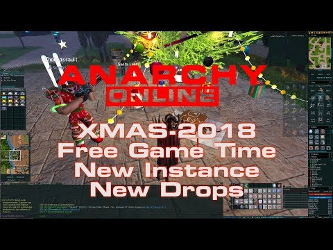 Anarchy Online 18.8 –  Xmas -2018 – Free Playtime + New Stuff