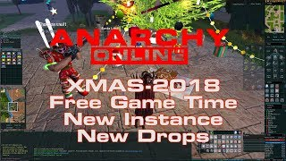 Anarchy Online 18.8 -  Xmas -2018 - Free Playtime + New Stuff