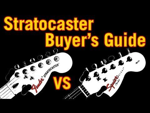 Stratocaster Buyer's Guide: Fender vs Squier