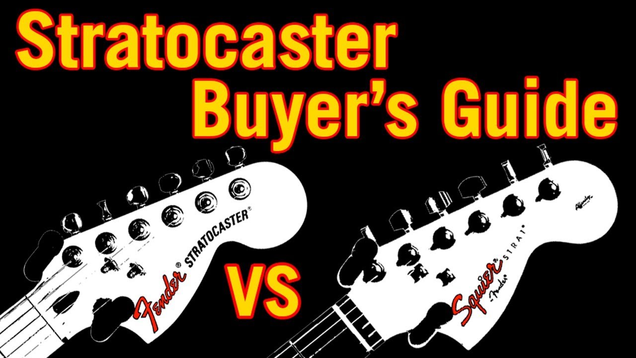 Stratocaster Buyer's Guide: Fender vs Squier