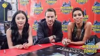 X-Men: Apocalypse Cast Signing at Midtown Comics Downtown