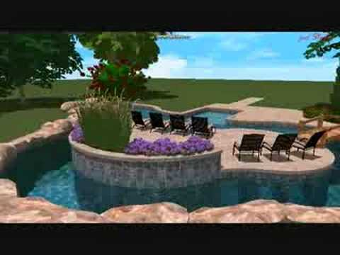 Lazy River Swimming Pool Designs according to designerbuilder Lazy River